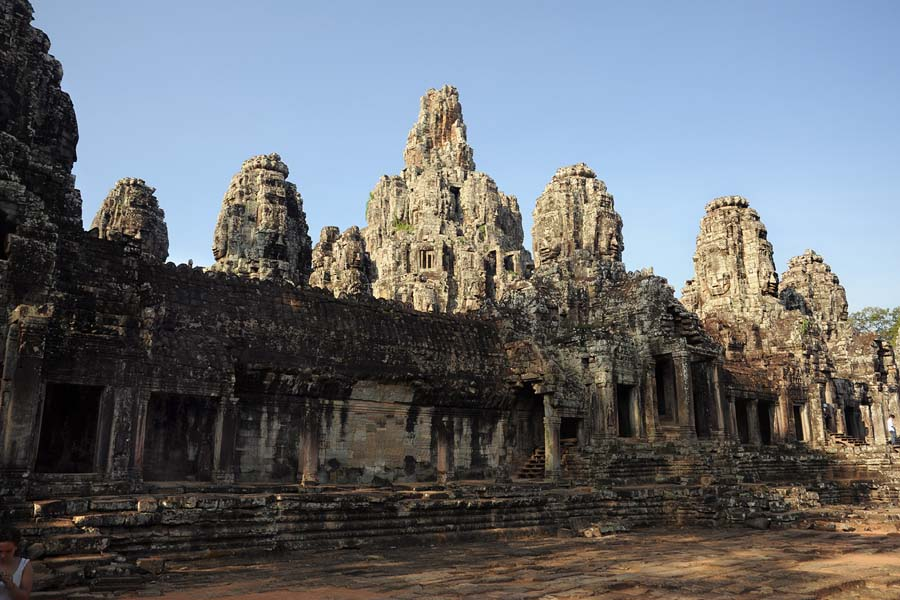 Bayon temple towers