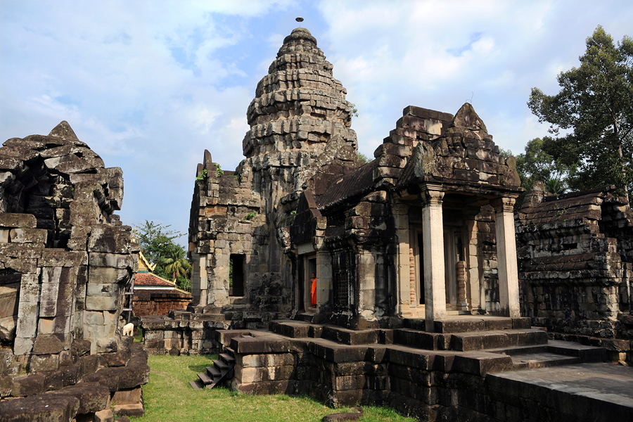 Wat Athvea temple in Siem Reap