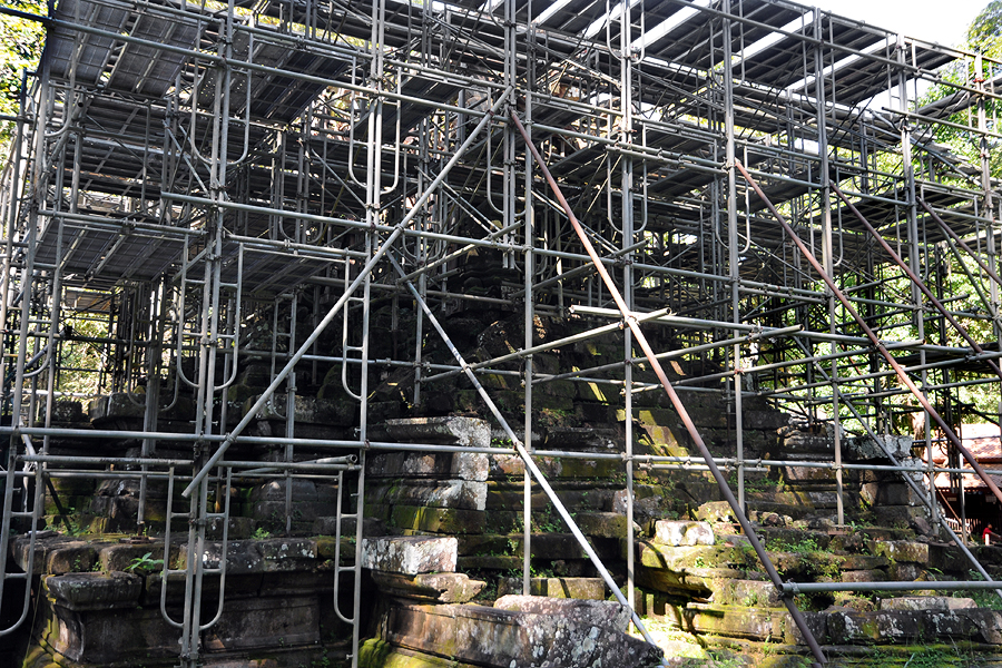 West Prasat Top restoration