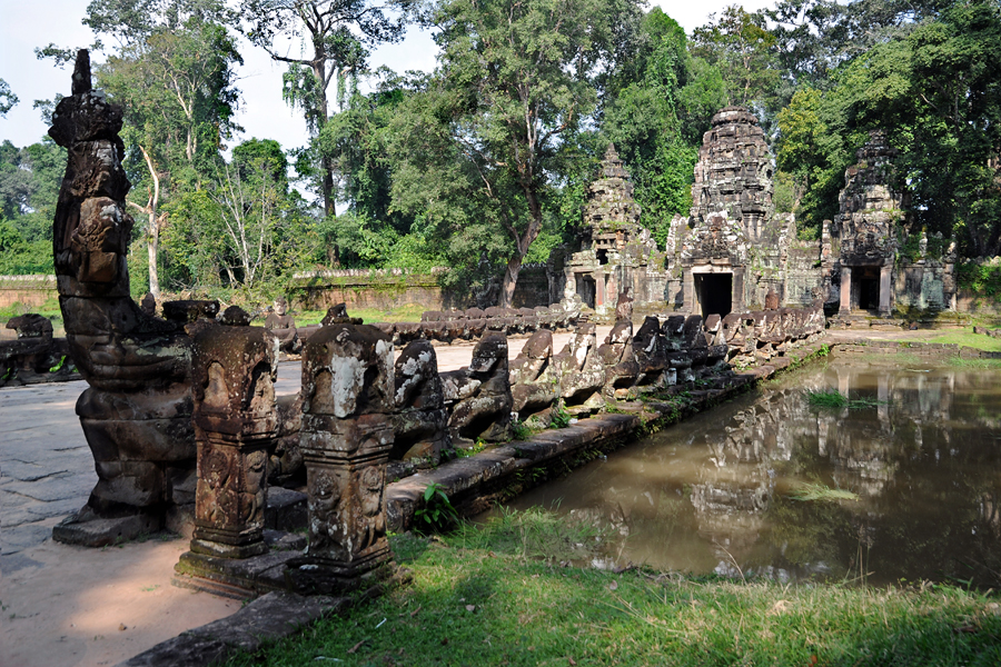 Preah Khan West Gate